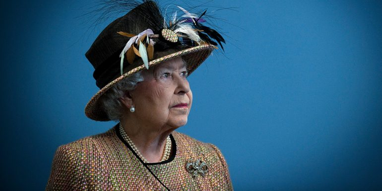 reina isabel II, monarca británica