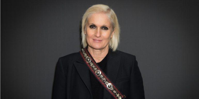 Maria Grazia Chiuri se convierte en la primer mujer en ser directora creativa de Dior