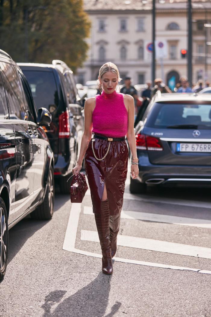 rosa y vino, street style