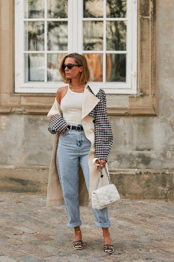 5 prendas que te suman hasta 10 años, mom jeans, street style, primavera -verano