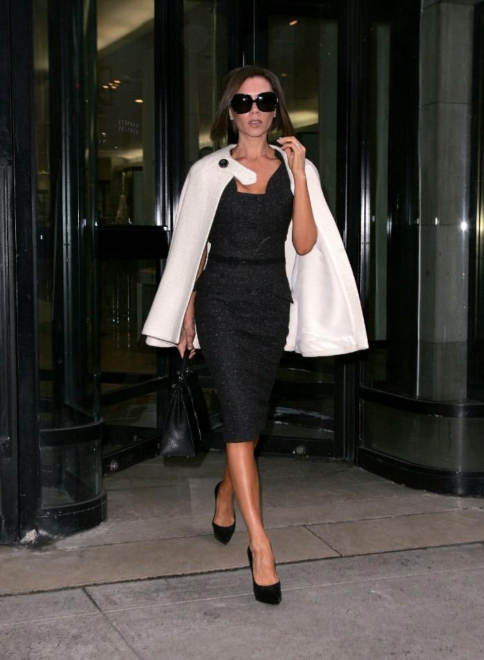 Victoria Beckham, claves de estilo, beckham, spice girls, capa
