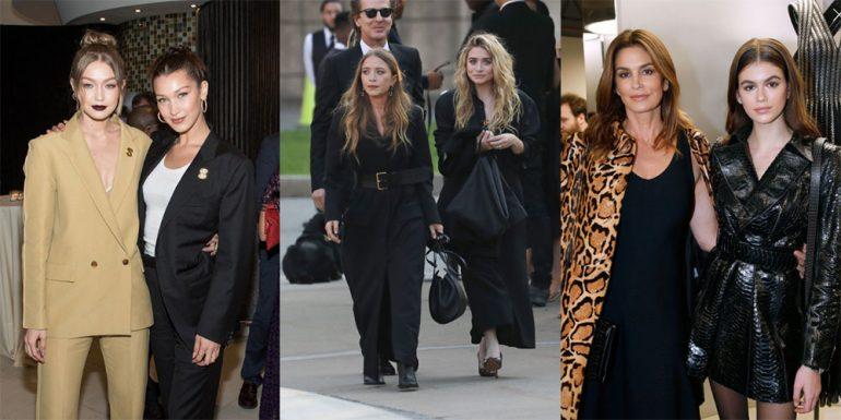 familias en la moda