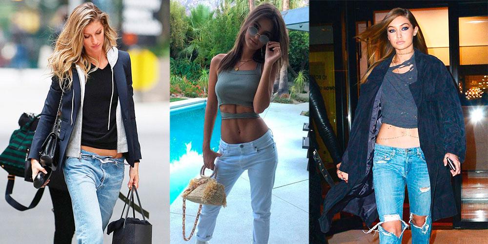 ¿Llegó la tendencia de usar low-rise jeans para quedarse  ¡NO POR 67ec0edc0490c