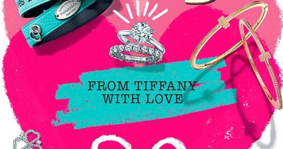 Para este San Valentín, lo primero que viene a nuestra mente, es esa tonalidad azul que pinta las mejores historias con Tiffany & Co.