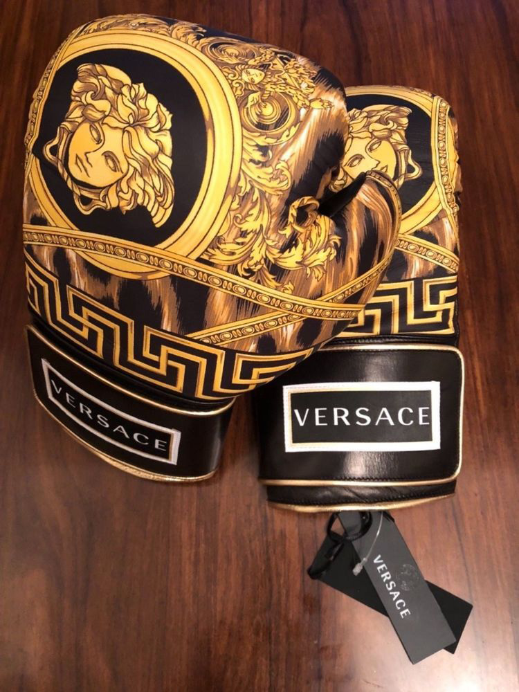 Guantes-Versace