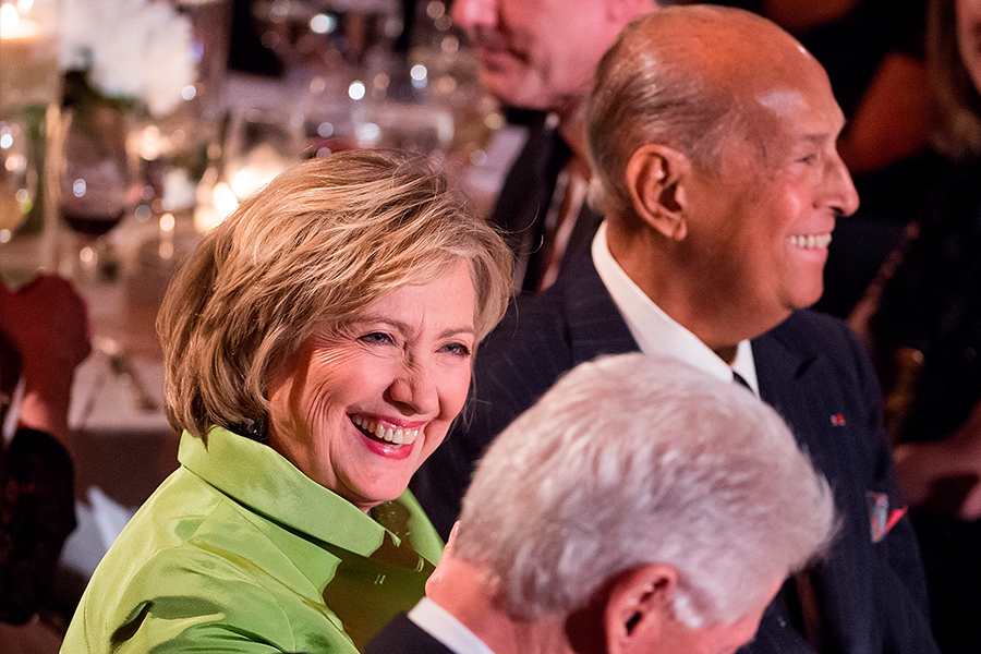 Oscar de la Renta Hillary Clinto foto-Getty Images