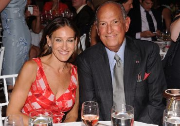 Oscar de la Renta y Sarah Jessica Parker foto: getty images