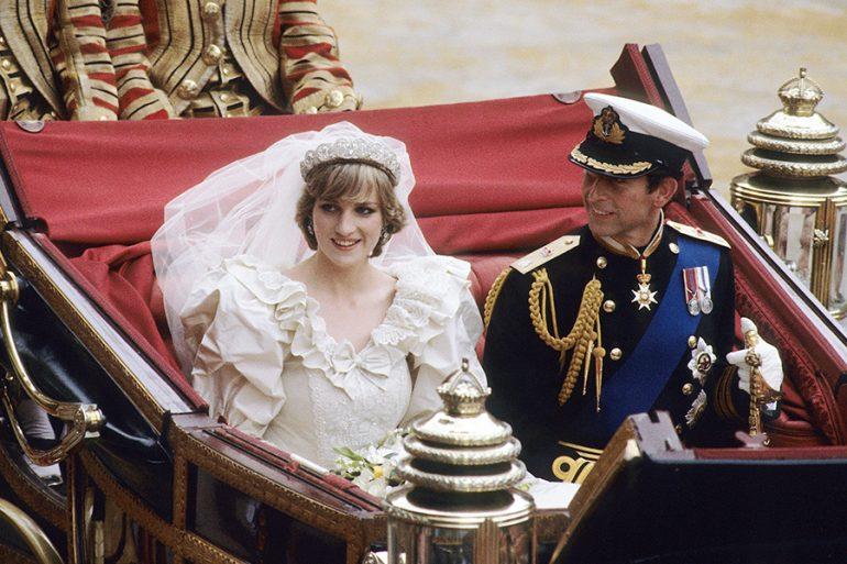 El vestido de la Princesa Diana era digno de cuento de hadas. (Getty Images)