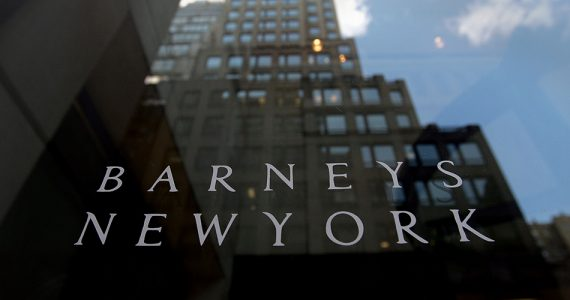 La icónica tienda departamental Barneys cerrará después de declararse en quiebra. (Getty Images)