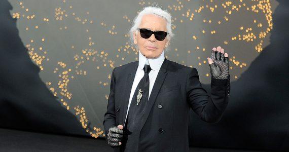 Subastan autorretrato de Karl Lagerfeld, premio Karl Lagerfeld