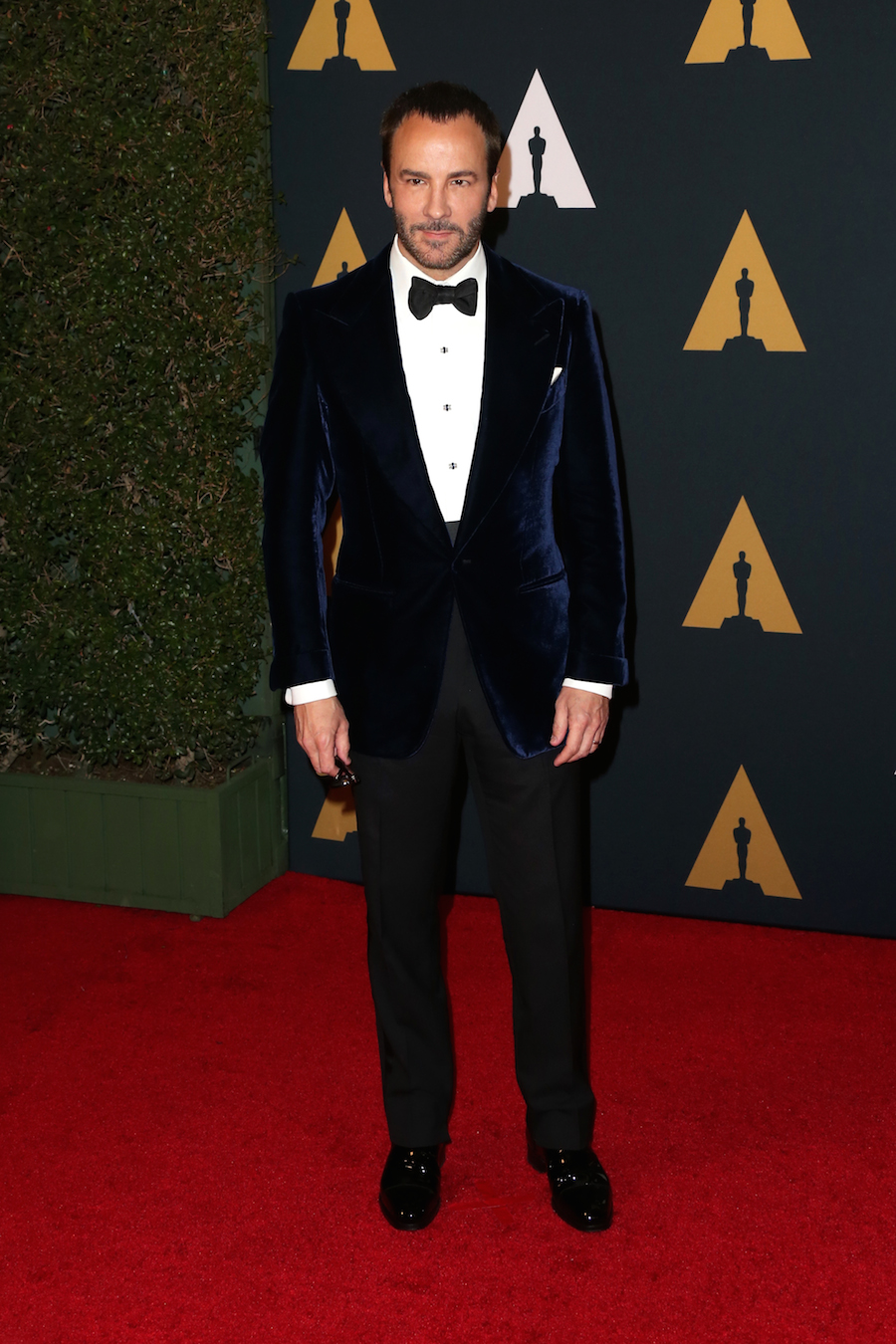 Tom Ford en la ceremonia de los premios Oscar en 2016 (Getty Images)