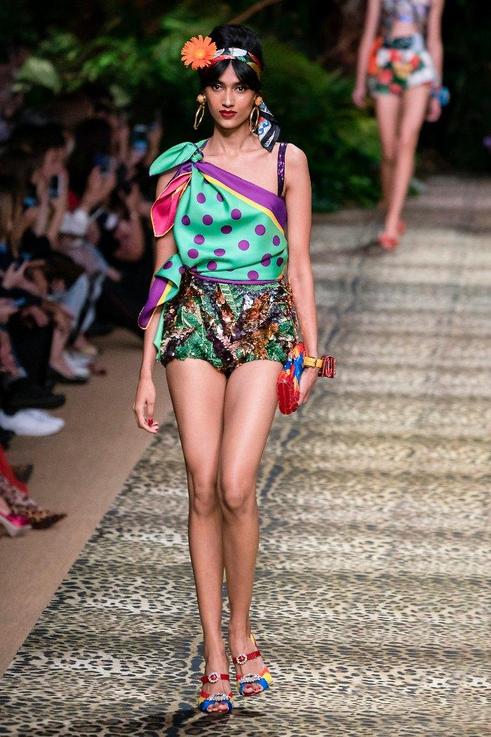 Dolce & Gabbana Primavera-Verano. prendas primavera, primavera-verano, primavera 2020, moda primavera, moda fresca, moda contra el calor