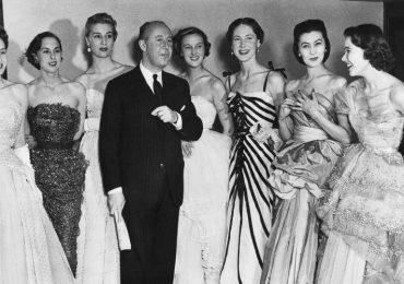 Christian Dior en 1950, musas de Christian dior, dior, musas de moda, diseñador francés, diseñador de moda, inspiración de moda
