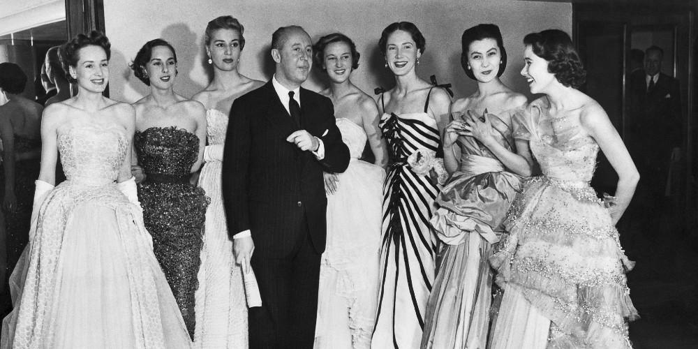 Christian Dior en 1950, musas de Christian dior, dior moda
