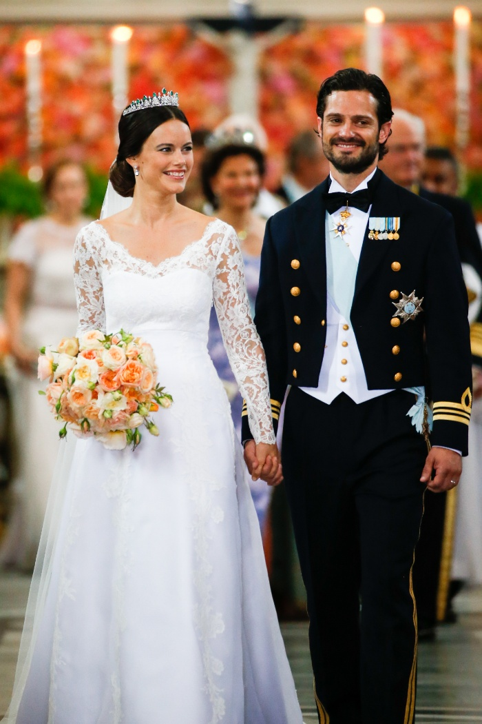 Sofía Hellqvist, vestidos de novia, vestidos de la realeza, vestidos para casarse, bodas reales
