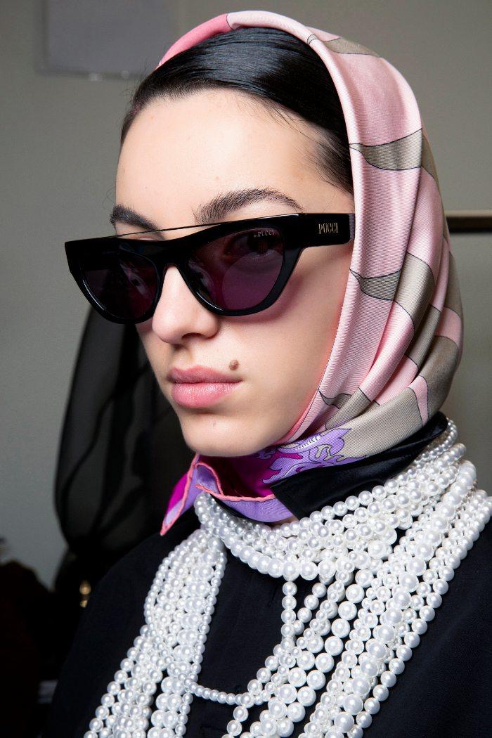 dior, mascada, scarf, Headscarves, tendencias para pelo