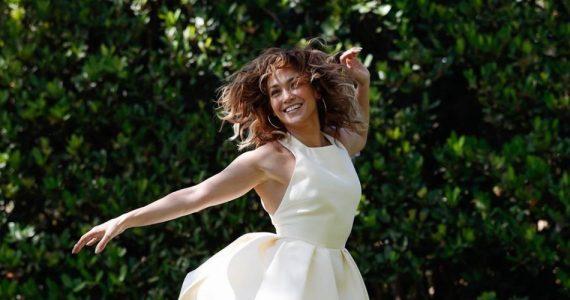 Jennifer Lopez, radiante en cuarentena