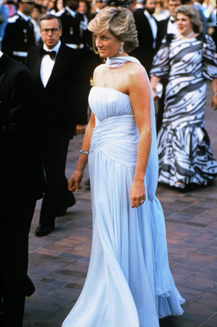 CANNES, FRANCE - MAY 15: Princess Diana At The Cannes Film Festival, France. (Photo by Tim Graham Photo Library via Getty Images)