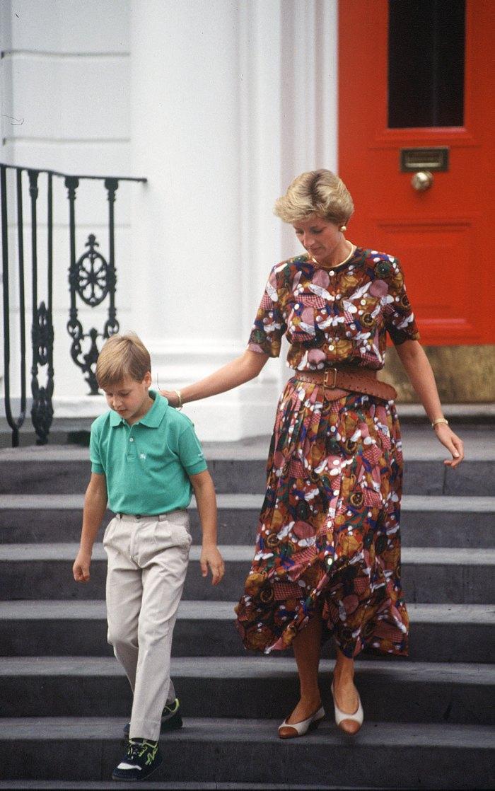 Princesa Diana, Lady Di, vestidos estampado, tendencias primavera. primavera 2020.