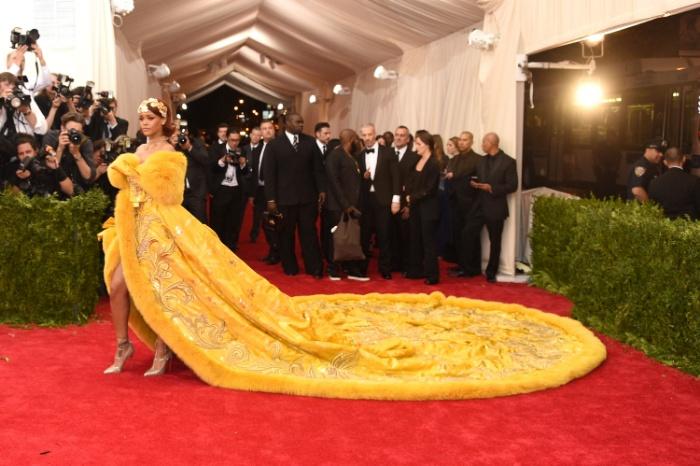 Rihanna,met gala, gala del met, nueva york, vestido icónico