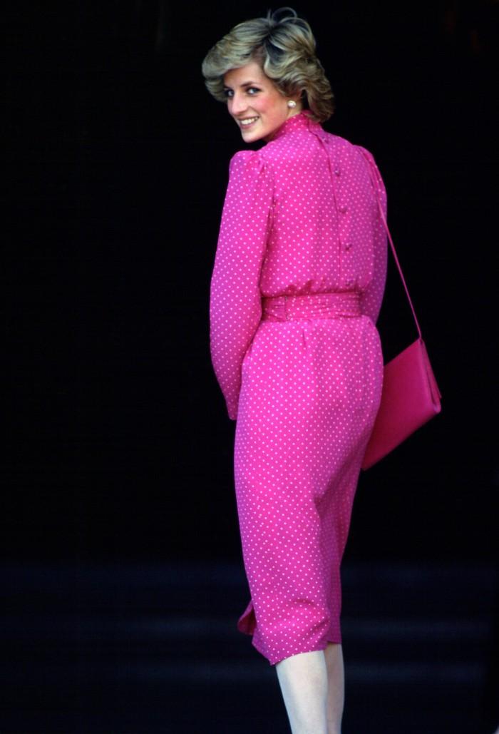5 vestidos de Lady Di perfectos para esta primavera, vestidos primavera 2020, vestido rosa