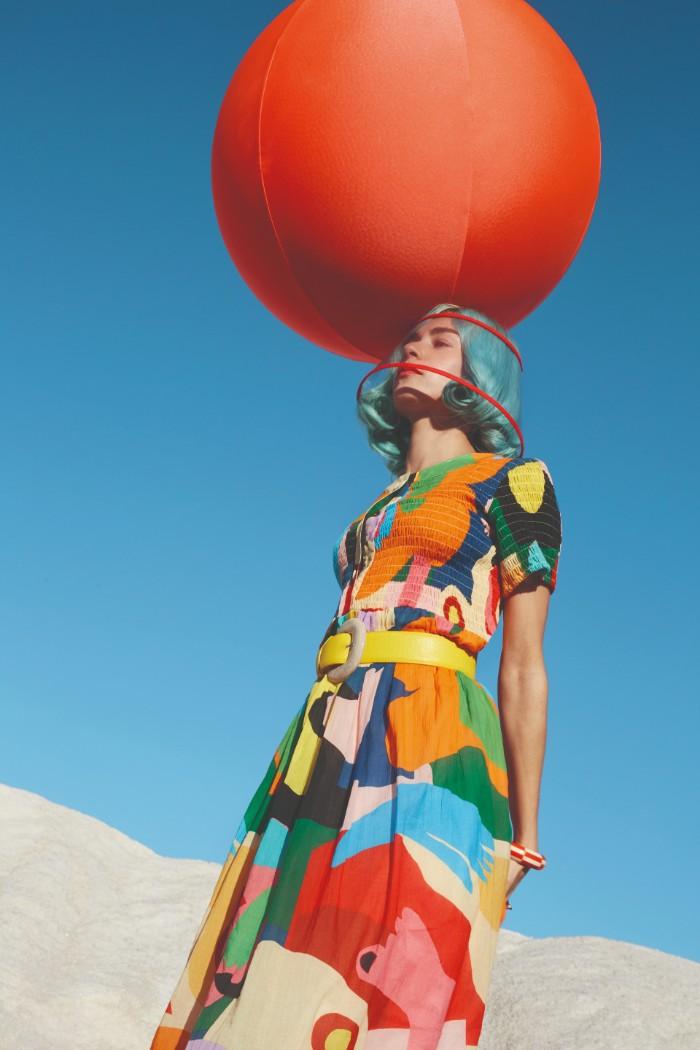 La fuente de inspiración de Miranda Makaroff, entrevista, diseñadora, ilustración, moda, arte