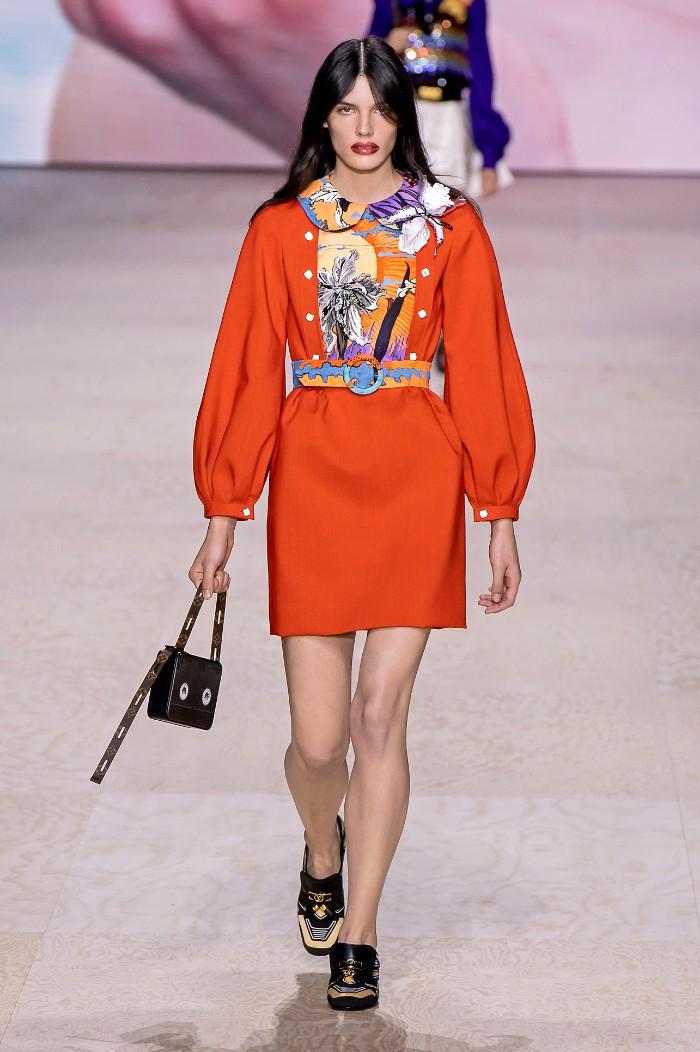 Louis Vuitton Primavera-verano 2020. Foto: Imaxtree