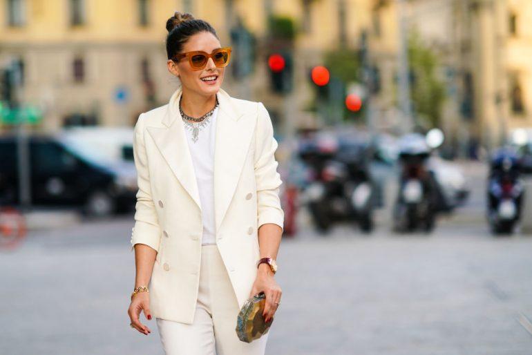 ¿qué significa vestirte de blanco? Olivia Palermo