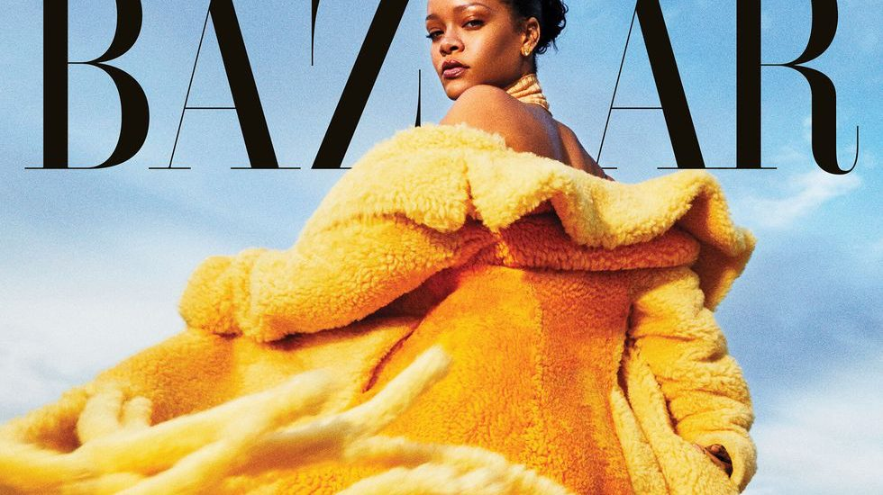RIHANNA SEPTEMBER ISSUE Harper's Bazaar 2020