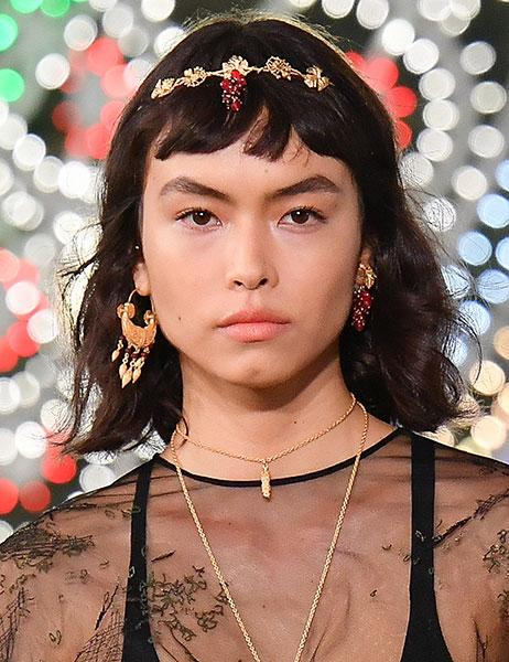 Una de las propuestas de flequillo de Dior