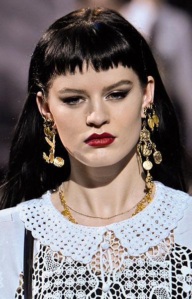 Un mini flequillo de Dolce & Gabbana