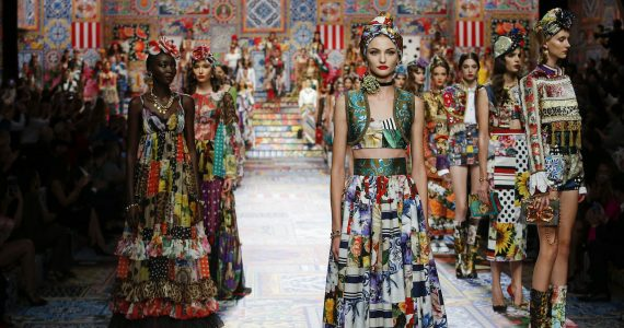 Dolce & Gabbana SS 21 finale
