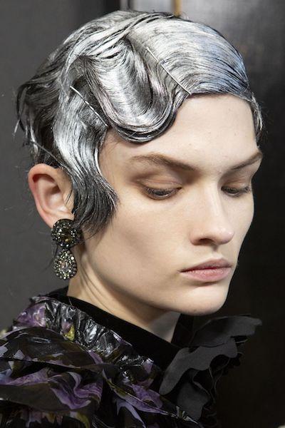 Peinados Otoño 2020 Erdem