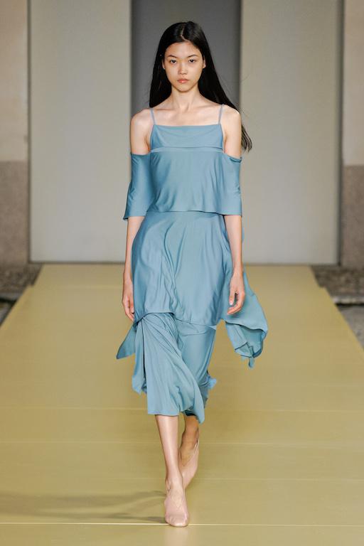 Salvatore Ferragamo Primavera Verano 2021 vestido