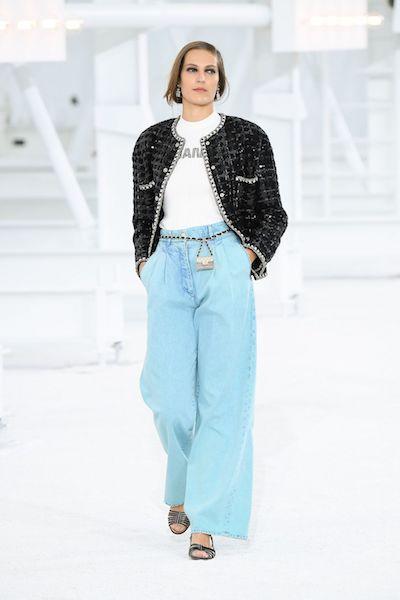 chanel Primavera Verano 2021 jeans