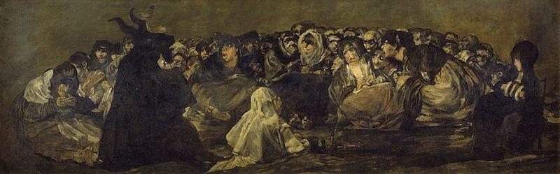Cuál es el origen de las brujas Aquelarre