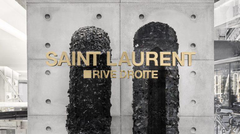Helmut Lang X Saint Laurent Rive Droite