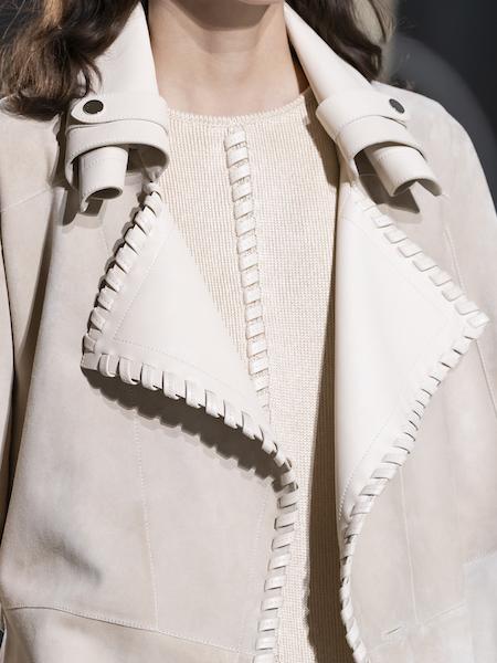 Hermès Primavera Verano 2021 cuello