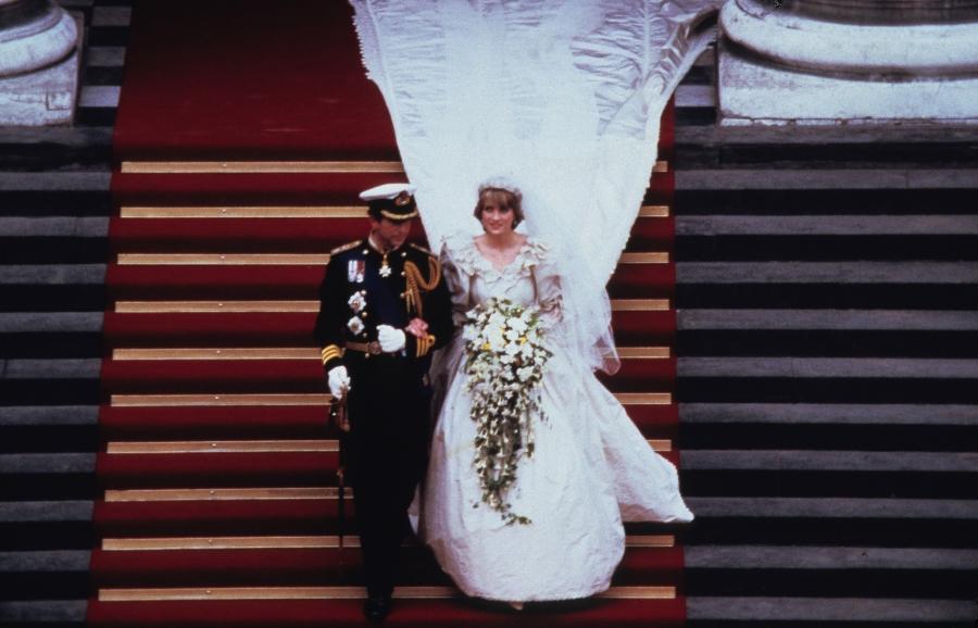historia del vestido de novia de la princesa diana lady di