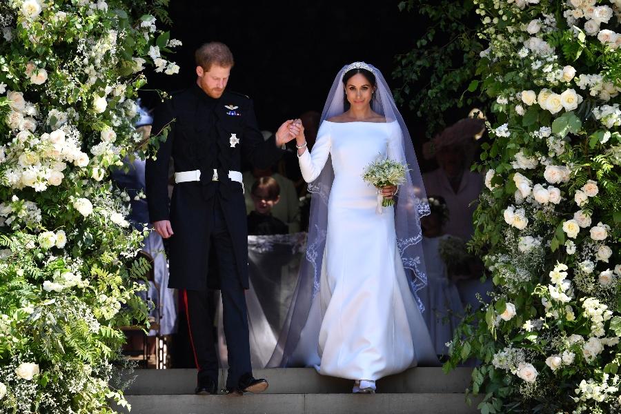 historia del vestido de novia de meghan markle