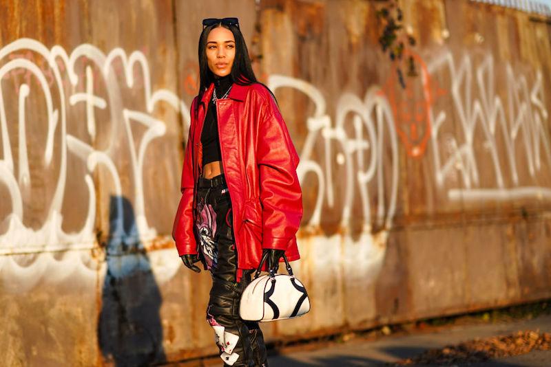 Street style rojo