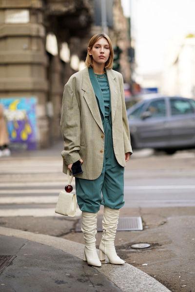 Street style verde