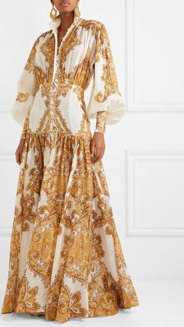 Vestido damasco