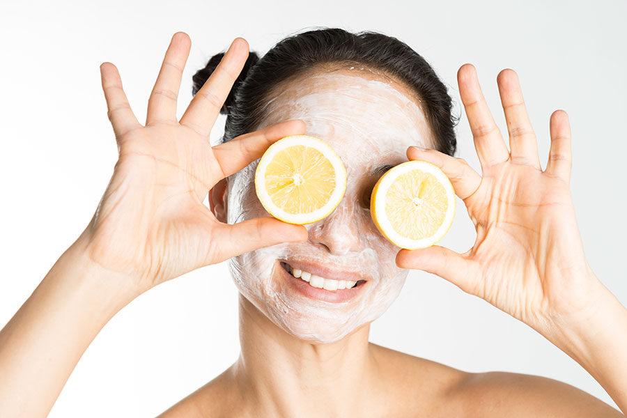 Limón para reducir las ojeras
