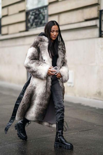 Cómo usar abrigos de fur 2020 2021 bear