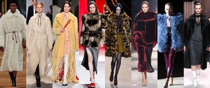 Cómo usar abrigos de fur 2020 2021 pasarelas