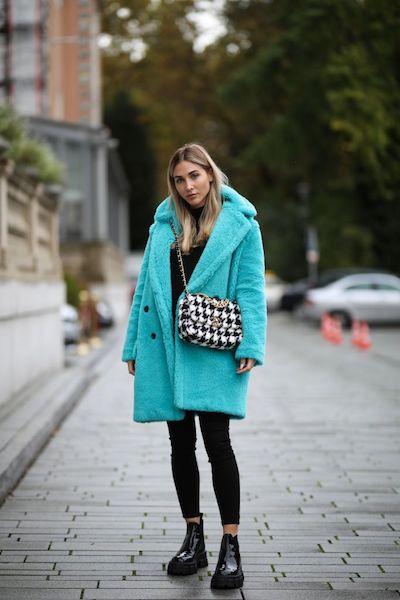 Cómo usar abrigos de fur 2020 2021 pastel
