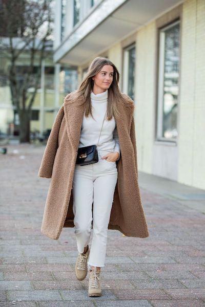Cómo usar abrigos de fur 2020 2021 teddy