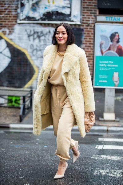 Cómo usar abrigos de fur 2020 2021 vainilla