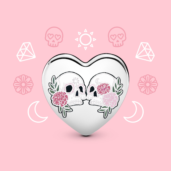 Día de Muertos x Pandora charm